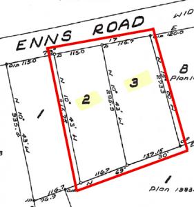 2249 Enns Road, Lot 2&3